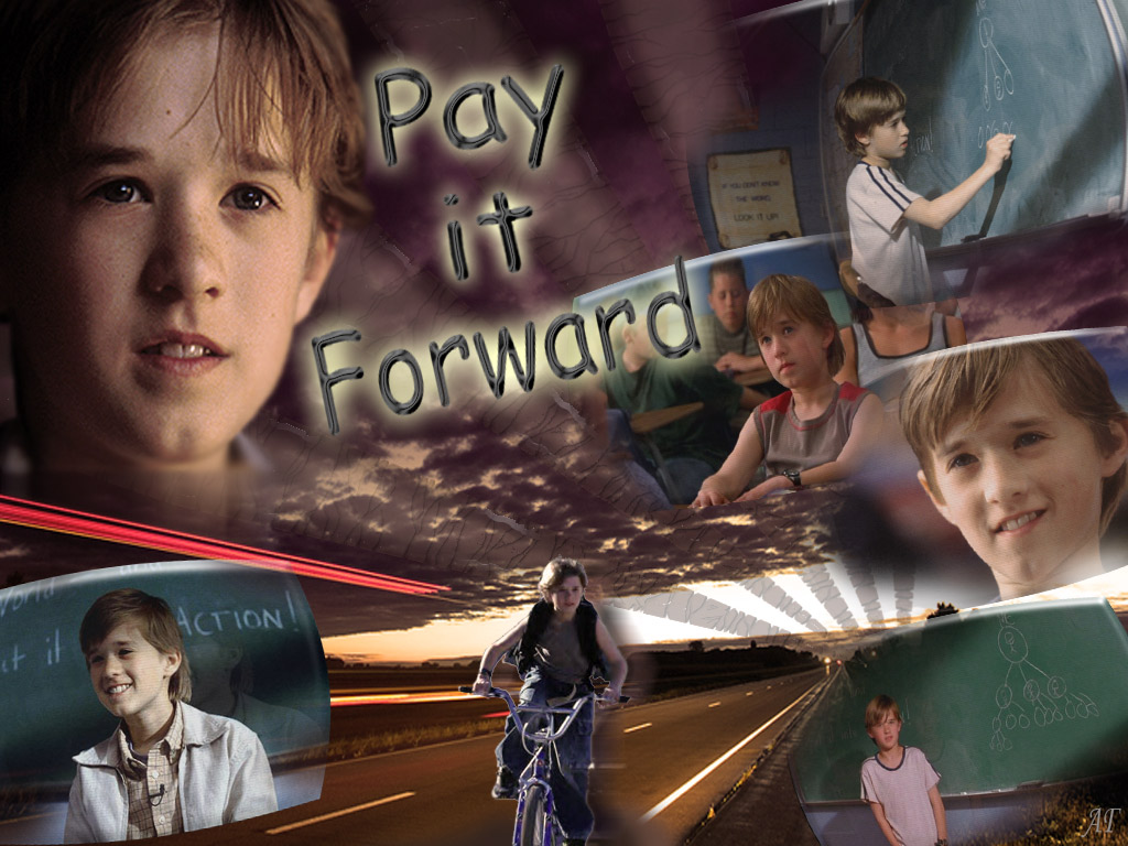 reaction paper of pay it forward movie The pay it forward movement is the real-life reaction to the release of my novel in early 2000, followed by the creation of the pay it forward foundation, followed by the warner brothers movie.